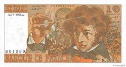 10 Francs BERLIOZ FRANCE  1976 F.63.17a SPL+