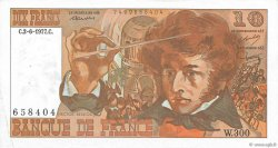 10 Francs BERLIOZ FRANCE  1977 F.63.22 SUP+