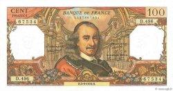 100 Francs CORNEILLE FRANCE  1970 F.65.32 SPL
