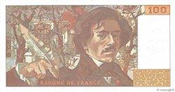 100 Francs DELACROIX modifié FRANCE  1978 F.69.01e SPL+
