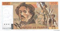 100 Francs DELACROIX modifié FRANCE  1979 F.69.02a pr.NEUF
