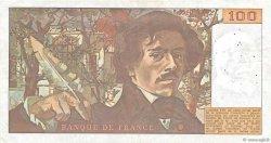 100 Francs DELACROIX modifié FRANCE  1979 F.69.02a pr.TTB