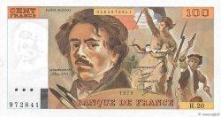 100 Francs DELACROIX modifié FRANCE  1979 F.69.03 SPL+