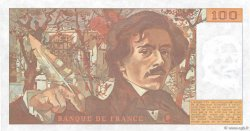 100 Francs DELACROIX modifié FRANCE  1989 F.69.13c pr.SPL