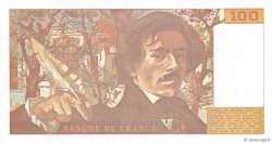 100 Francs DELACROIX imprimé en continu FRANCE  1991 F.69bis.03b2 NEUF