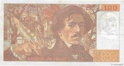 100 Francs DELACROIX imprimé en continu FRANCE  1993 F.69bis.07 pr.TTB