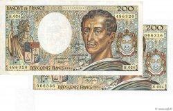 200 Francs MONTESQUIEU FRANCE  1984 F.70.04 SPL+
