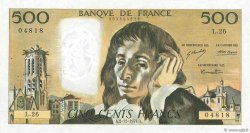 500 Francs PASCAL FRANCE  1971 F.71.07 SUP