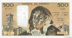 500 Francs PASCAL FRANCE  1975 F.71.13 SUP