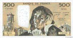 500 Francs PASCAL FRANCE  1979 F.71.19 pr.SPL