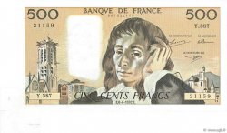 500 Francs PASCAL FRANCE  1992 F.71.50 pr.SUP