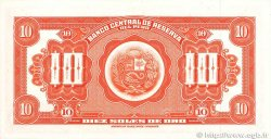 10 Soles de Oro PÉROU  1965 P.088 NEUF