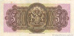 5 Shillings BERMUDES  1937 P.08b TTB