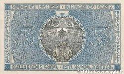 5 Markkaa FINLANDE  1909 P.020