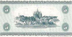5 Kroner DANEMARK  1957 P.042m SPL