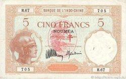 5 Francs NOUVELLES HÉBRIDES  1941 P.04a TTB