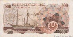 500 Schilling AUTRICHE  1965 P.139 pr.TTB