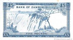 5 pounds ZAMBIE  1964 P.03a TTB