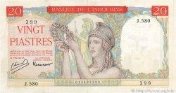20 Piastres INDOCHINE FRANÇAISE  1949 P.081a pr.SUP