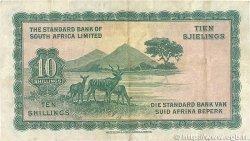 10 Shillings AFRIQUE DU SUD OUEST  1954 P.010 TB+