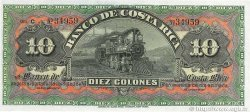 10 Colones COSTA RICA  1901 PS.174r NEUF