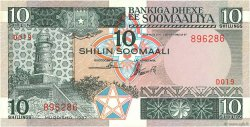 10 Shilin = 10 Shillings SOMALIE  1987 P.32c NEUF