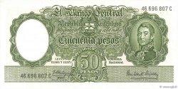 50 Pesos ARGENTINE  1955 P.271c pr.NEUF