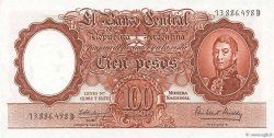 100 Pesos ARGENTINE  1957 P.272c pr.NEUF