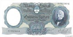 500 Pesos ARGENTINE  1964 P.278b SPL+