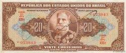 20 Cruzeiros BRÉSIL  1950 P.144 TTB