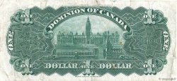 1 Dollar CANADA  1911 P.027a TB+