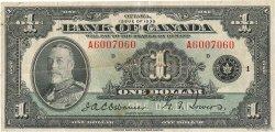 1 Dollar CANADA  1935 P.038 TB+