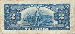 2 Dollar CANADA  1935 P.040 TB