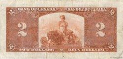 2 Dollars CANADA  1937 P.059c TB+