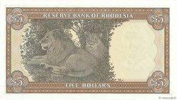 5 Dollars RHODÉSIE  1978 P.36b NEUF