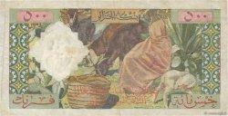 500 Francs ALGÉRIE  1958 P.117 pr.TTB
