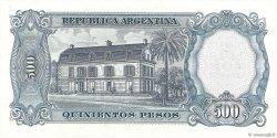 5 Pesos sur 500 Pesos ARGENTINE  1969 P.283 pr.NEUF
