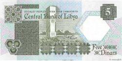 5 Dinars LIBYE  1991 P.55a NEUF