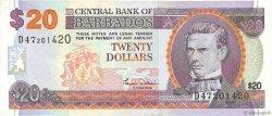 20 Dollars BARBADE  2000 P.63A TTB