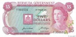 5 Dollars BERMUDES  1970 P.24a SPL