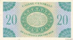 20 Francs MARTINIQUE  1944 P.24 TTB+