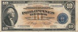 10 Pesos PHILIPPINES  1944 P.097 TTB