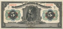 5 Pesos MEXIQUE  1913 PS.0132a TTB
