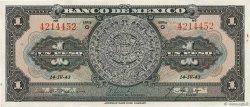 1 Peso MEXIQUE  1943 P.028e pr.SUP