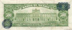 500 Pesos MEXIQUE  1965 P.051m TTB