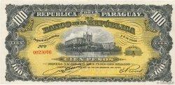 100 Pesos PARAGUAY  1907 P.159 SPL