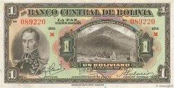 1 Boliviano BOLIVIE  1928 P.118a TTB