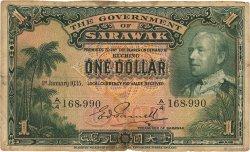 1 Dollar SARAWAK  1935 P.20 pr.TB