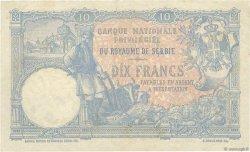 10 Dinara SERBIE  1893 P.10a TTB