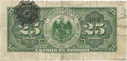25 Centavos MEXIQUE Hermosillo 1915 PS.1069 TB